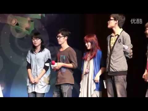 20110927 杭州搜狐音樂新聲力校園歌友會-徐佳瑩-中場(聽的出是哪首歌嗎XD)