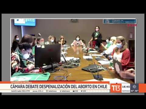 Cámara debate despenalización del aborto en Chile