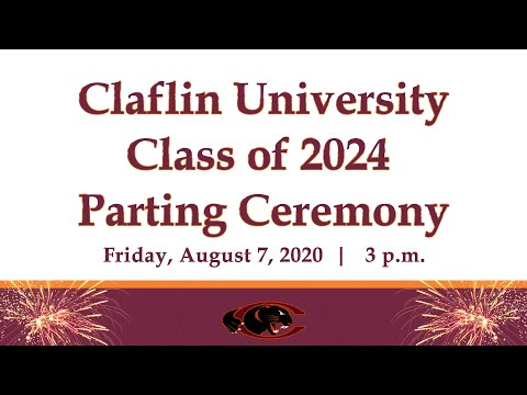 Claflin University Class of 2024 Parting Ceremony