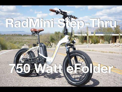 Rad Power Bikes RadMini Step-Thru Electric Bike Review | Electric Bike Report