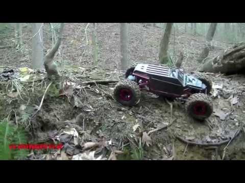 MOA 4WS Axial AX10 Scorpion: First Run