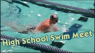 It's The First High School Swim Meet of the Season