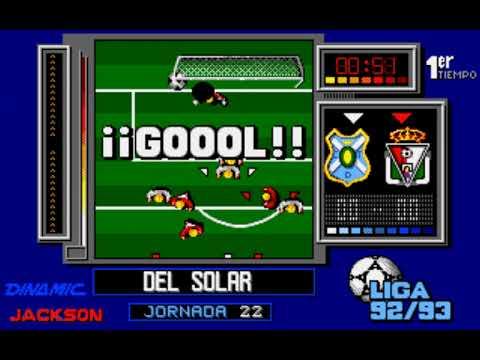 Simulador Profesional de Fútbol (a.k.a. PC Fútbol 1.0) (Dinamic Software) [1992] [PC Longplay]