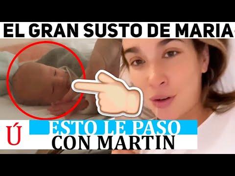María Pombo, asustada tras dar a luz: «Se me ha partido el corazón, me ha dado una pena horrorosa»