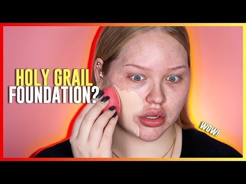 "HOLY GRAIL FOUNDATION"""" Huda Beauty Faux Filter Foundation REVIEW!"