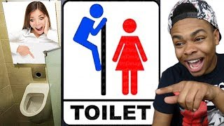 HILARIOUS RESTROOM SIGNS