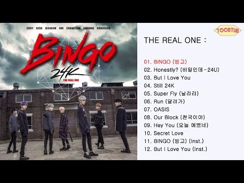 [Full Album] 24K (투포케이) - THE REAL ONE [1st Album]
