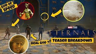 Eternals Teaser Trailer Breakdown In Hindi | Easter Eggs | Villain Explained | Eternals Explained