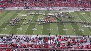 Ohio State Marching Band- Hollywood Blockbusters vs. Penn St. 10/26/13
