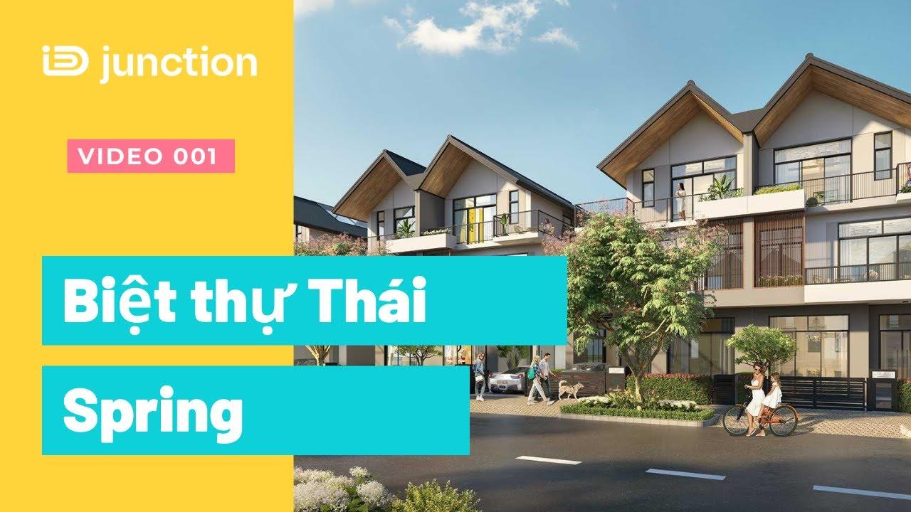 Biệt thự Thái Lan iD Junction cách Vincom 1km, cao tốc LT 100m video