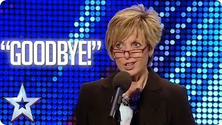 """""""This is not going to be good."""" IMPRESSIONIST PROVES SIMON WRONG!   Britain's Got Talent"""