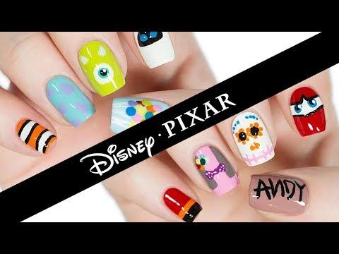 10 Disney Pixar Nail Art Designs: The Ultimate Guide!