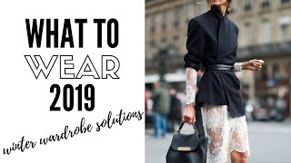Top Wearable Winter Fashion Trends 2019   How To Style