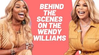 NENE RETURNS TO THE PURPLE COUCH! | BACKSTAGE | WENDY WILLIAMS
