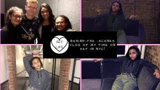 A Day In My Life: NYC Set Vlog #2 | Montana Jacobowitz