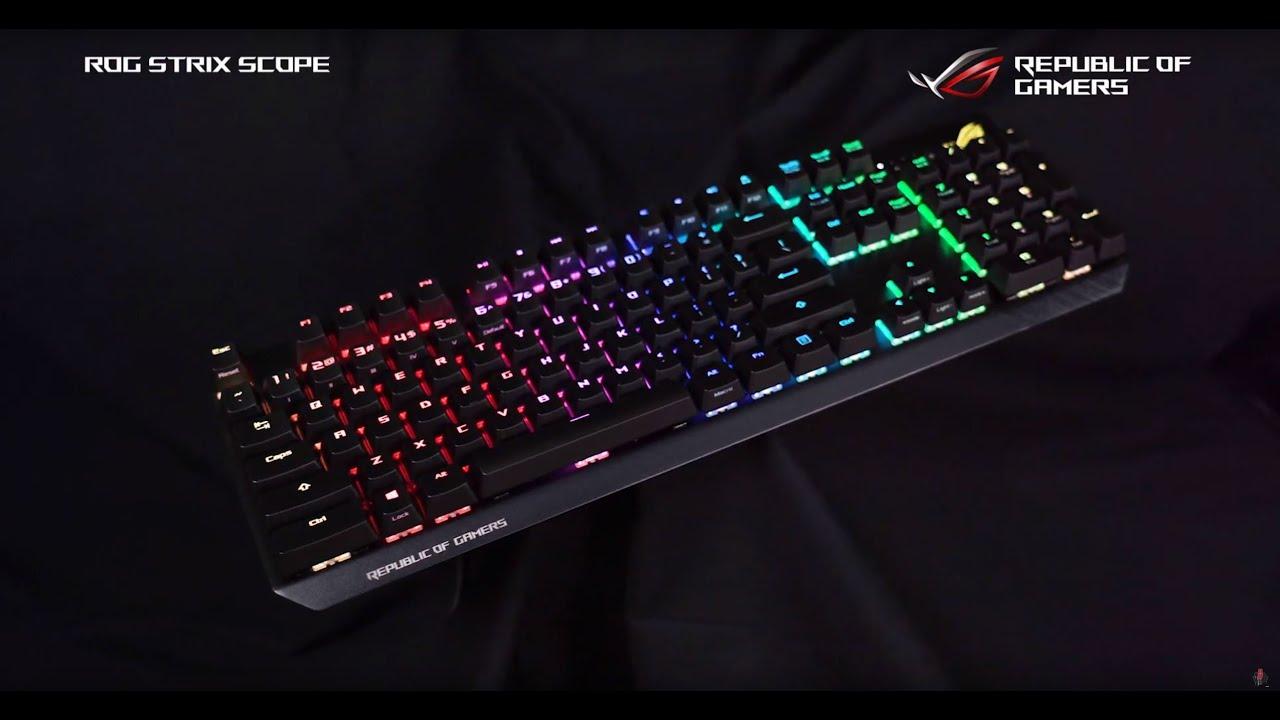 Asus ROG Strix Scope Gaming tastatur