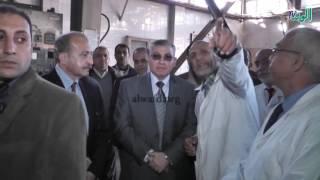 وزير التموين فى جولة بمصنع قها     -