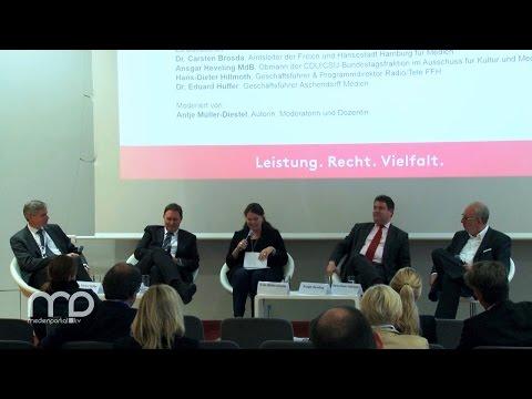 Diskussion: Faire Rahmenbedingungen für die Medienvielfalt