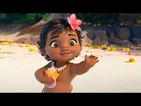 Moana - Vaiana -「モアナと伝説の海」 official international trailer #2 特報 (2016) Disney