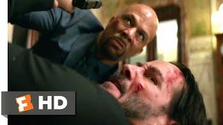 John Wick: Chapter 2 (2017) - John vs. Cassian Scene (5/10) | Movieclips