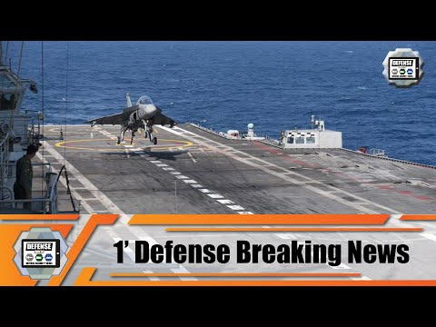 India: First landing of Naval Tejas Mk1 Light Combat Aircraft on INS Vikramaditya aircraft carrier