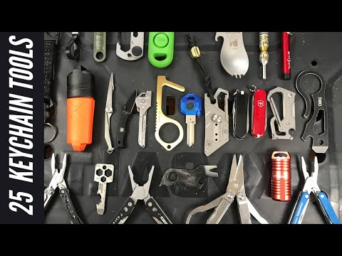 25 Keychain Tools: Leatherman, Spyderco, Exotac Firesteel, Lighters, Carabiners, Pry Tools and More