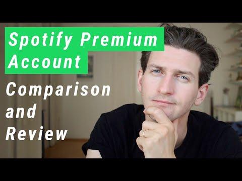 Spotify Premium Account - Comparison and Review