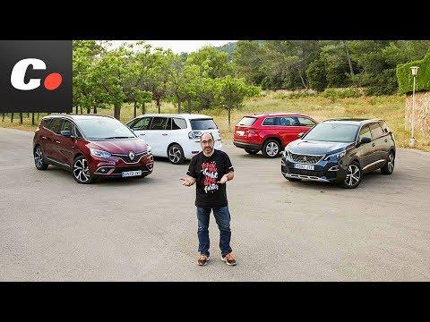 "¿Necesitas 7 plazas"" Peugeot 5008, Renault Grand Scénic, Skoda Kodiaq, Grand C4 Picasso | coches.net"