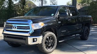 2016 Toyota Tundra SR5 Crewmax Full Review, Start Up, Exhaust