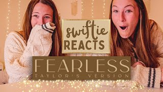 Swiftie Reacts to Fearless (Taylor's Version) // Nena Shelby