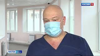 Западно-Сибирский медицинский центр ФМБА России начал снова принимать коронавирусных больных