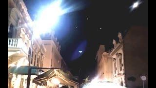 Diversi Ufo filmati mentre stazionano a Belgrado in Serbia