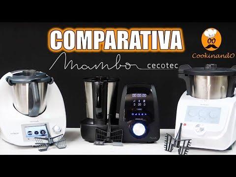 COMPARATIVA MAMBO VS THERMOMIX TM5 VS MONSIEUR CUISINE CONNECT 'LIDL'
