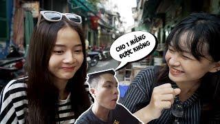 Lần đầu Hương khoe em gái ruột - Cầm 200k đi ăn hết chợ Campuchia