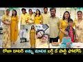 MLA Roja daughter Anshu Malika birthday celebrations, latest pics
