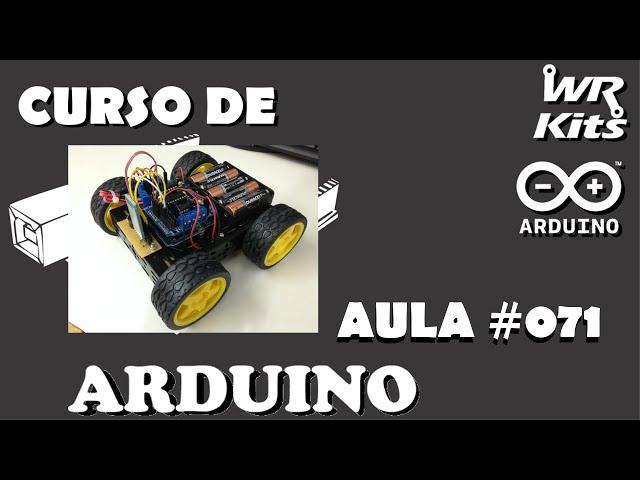 ROBÔ 4X4 COM MOTOR SHIELD (p1) | Curso de Arduino #071