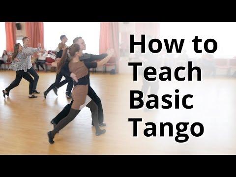 Workshop - How to do Basic Tango for Beginners   Ballroom Dance