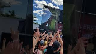 Silverstein set warped tour Toronto 2018