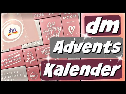 dm Adventskalender Haarpflege - Beauty & Kosmetik - 9999 Dinge