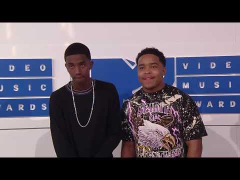 Justin & Christian Combs @ MTV VMAs 2016