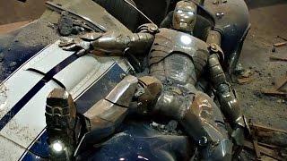 "Iron Man - First Flight Scene - Mark 2 ""Handles Like A Dream"" - Movie CLIP HD"