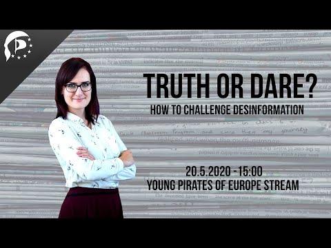 TRUTH OR DARE? Záznam webináře o boji s dezinformacemi (ENG)