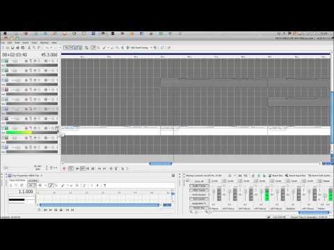 Como hacer una pista de Hip Hop Romantico en Acid Pro 7