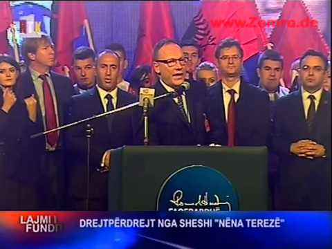 Ramush Haradina dhe Avukati i tij ne Sheshin Nena Terez