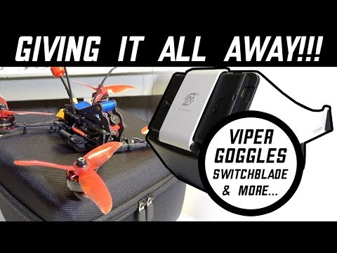 VIPER GOGGLES & SWITCHBLADE FPV RACER Giveaway & FUUTON 2 Winner!