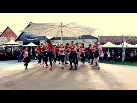 YMCA Flash Mob Hobart