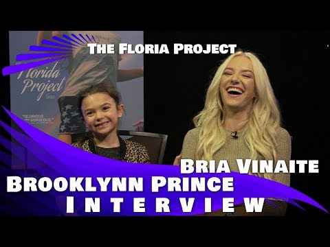 THE FLORIDA PROJECT - BROOKLYNN PRINCE & BRIA VINAITE INTERVIEW