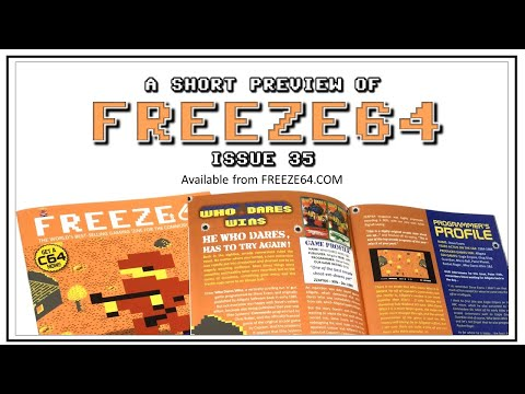 FREEZE64 fanzine issue 35 for the Commodore 64