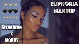 MADDY EUPHORIA GEM MAKEUP TUTORIAL | STRASHME