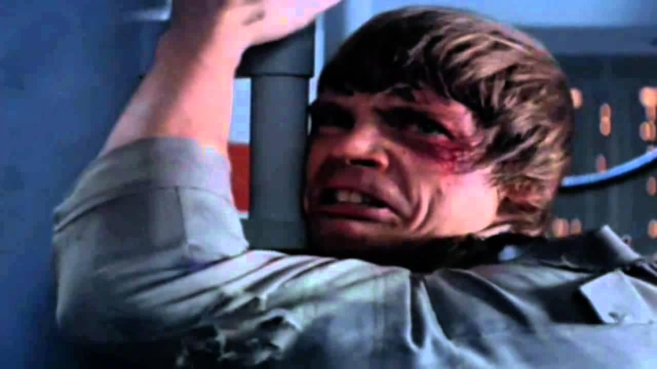 Nooooo: Luke Skywalker: Nooooo! That's Not True! That's Impossible